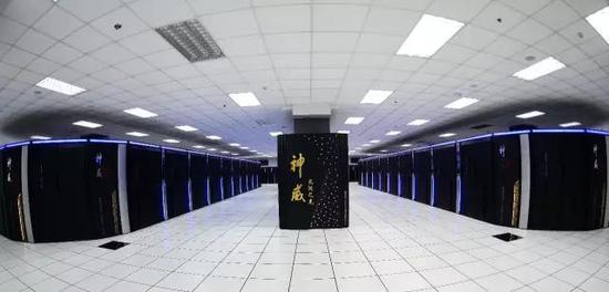 """""""神威·太湖之光""""计算机"""