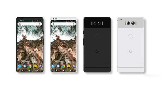 谷歌Pixel2概念图再曝全面屏+双摄双闪