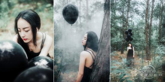 《独自森林》-MY夜鱼 图片来自摄影部落