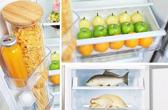 定期检查冰箱内部 发现变质食物马上清除
