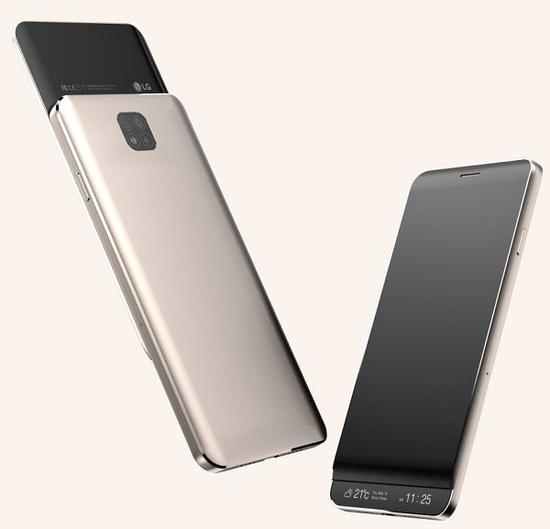 LG V30渲染图-LG新旗舰或8月上市 搭载骁龙835弥补G6遗憾