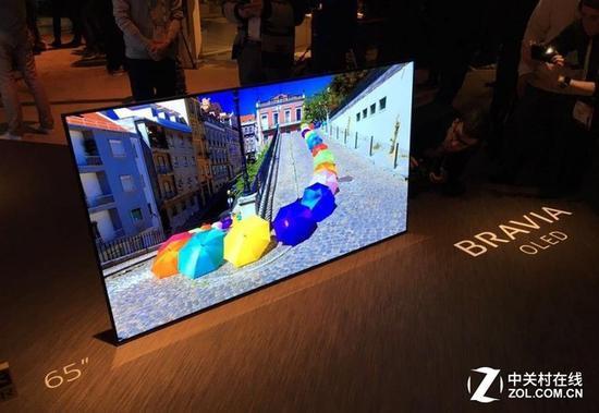 索尼在今年也推出OLED电视产品