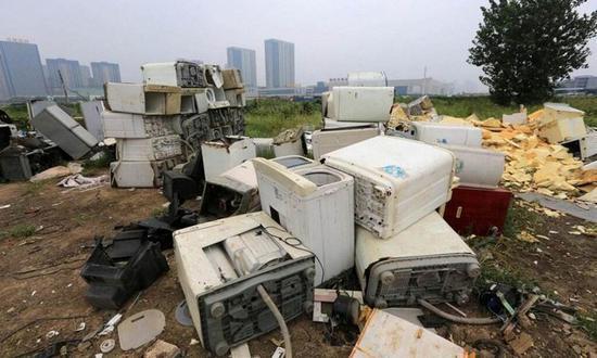 很多废旧家电并未走上正规回收之路