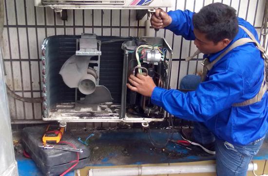空调室外机维修