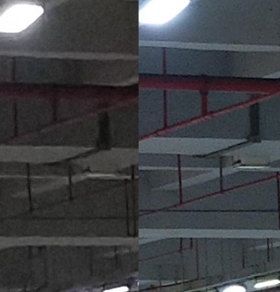 左:小米6;右:HTC U11