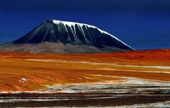 可可西里白象山