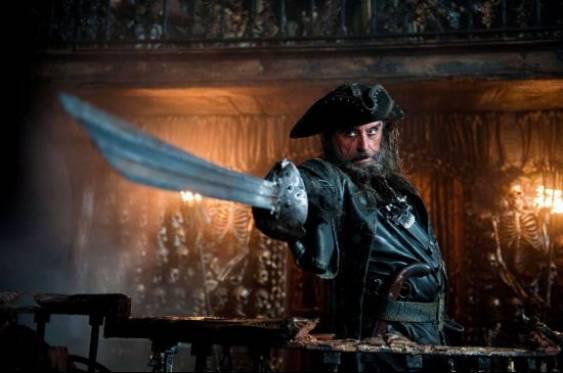 电影中的黑胡子:爱德华·蒂奇