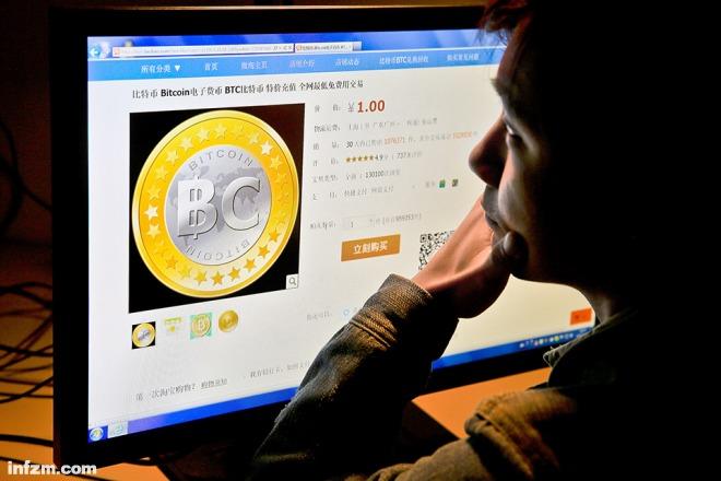 有人认为数字货币有泡沫,有人认为它的未来无限。(东方IC/图)