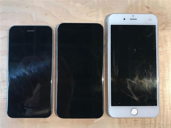 iPhone 6s、iPhone 8、iPhone 7 Plus