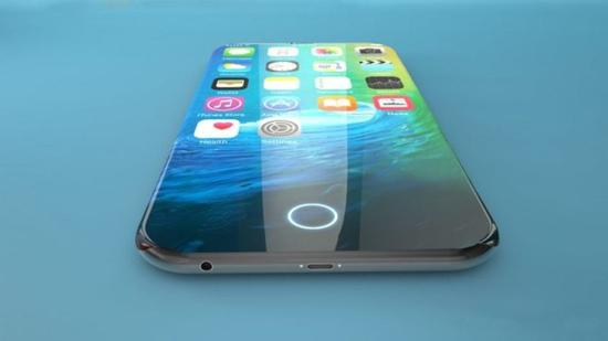 iPhone8屏内识别方案示意图