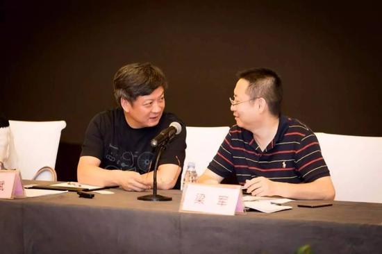 刚刚当选乐视网董事的孙宏斌和梁军。