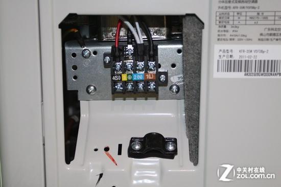 铜线看起来不粗 但能承受的电流可都是10A以上级别