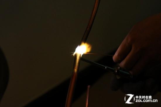 冷媒管焊接新手一般做不好 所以不推荐焊接