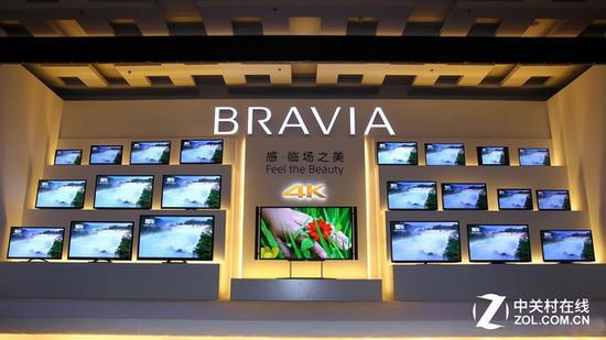 索尼曾经推出84英寸4K电视,售价超过14万人民币