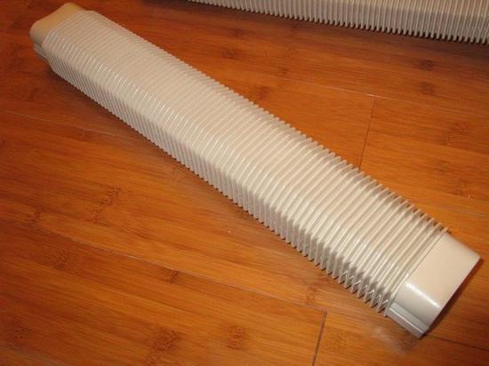 管线的室外部分尤其需要这种硬质管材保护