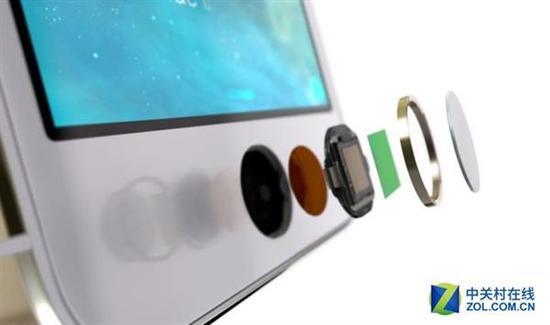 无疑引领了整个行业的iPhone5s的TouchID