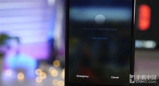 iPhone 8屏下指纹识别技术