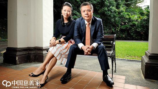 陈天桥与妻子雒芊芊