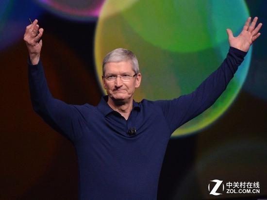 苹果股票再创新高市值逼近8300亿美元