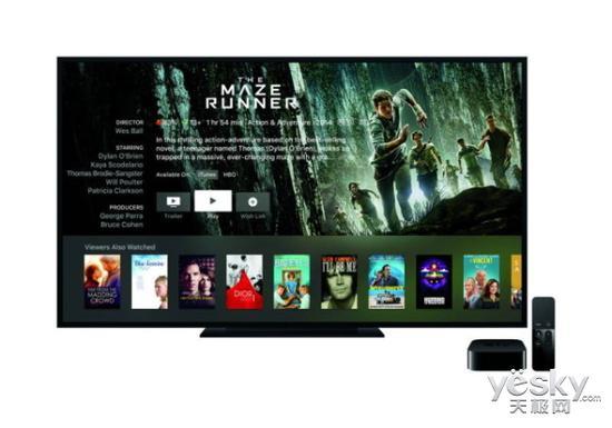 苹果又被自己坑了:自曝4K版Apple TV功能