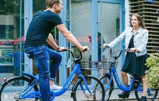 小蓝单车在美国