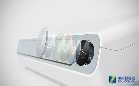 智米全直流变频空调OLED显示屏