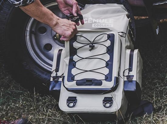 这款背包给你满满一口袋冰 堪称野营保鲜神器