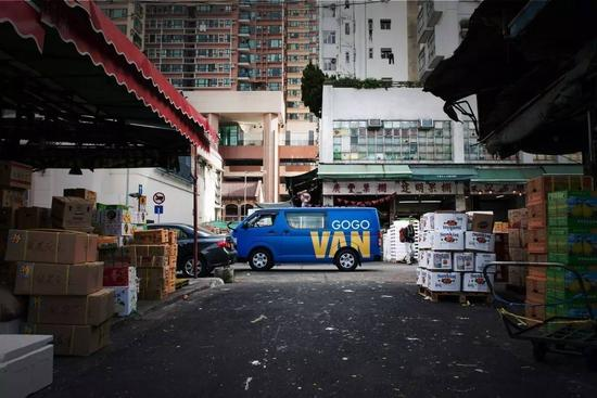 GOGOVAN在香港已经家喻户晓。@视觉中国