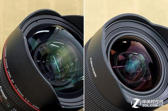 两支镜头都采用了内对焦、内变焦设计,可以保护灯泡结构的前镜组
