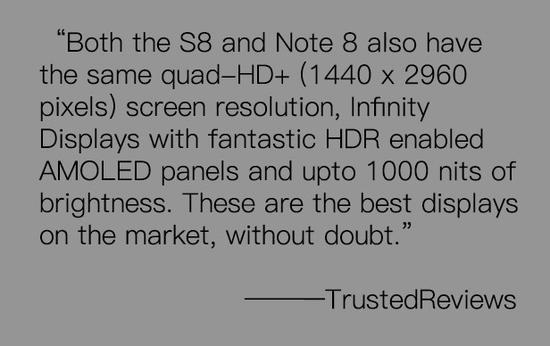 TrustedReviews:毫无疑问屏幕在市面上无人能敌