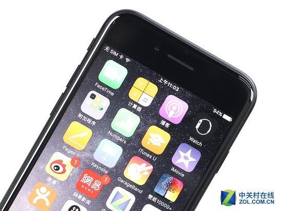 iPhone7的边框宽度