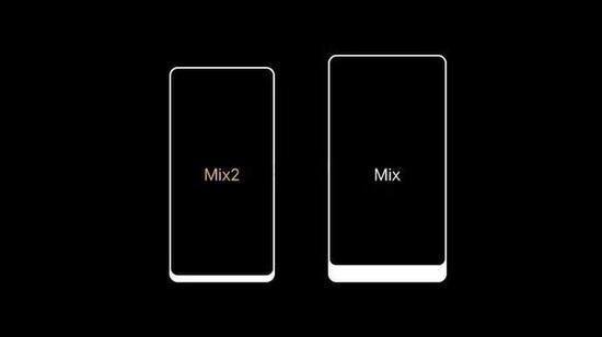 小米MIX 2与小米MIX对比