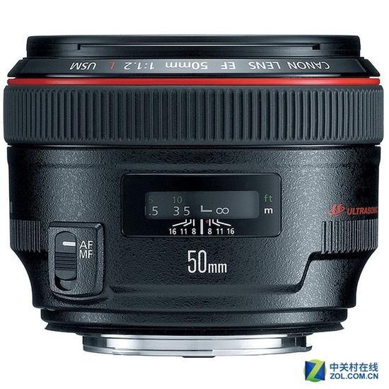 佳能明年或推出新款50mm镜头