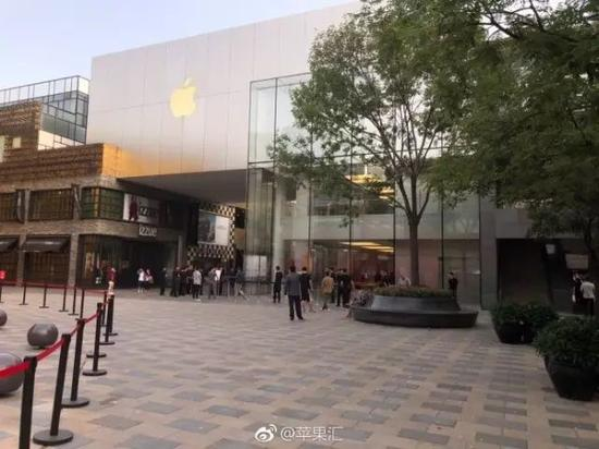 北京三里屯苹果店