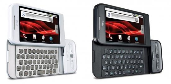 HTC Dream (G1) - 2008年