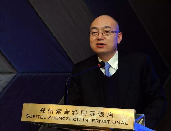 酷派手机总裁郭德英。@视觉中国
