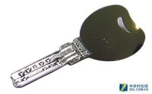 一字(电脑)多排钥匙为B级锁芯,比A级更加安全
