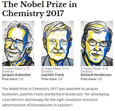 冷冻电镜:一个发给了物理学家的诺贝尔化学奖