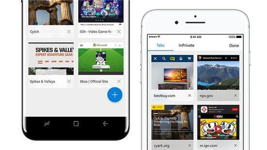 微软上线Edge浏览器iOS和安卓版