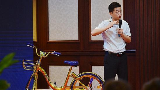 酷骑单车CEO高唯伟