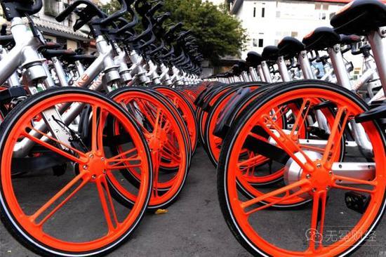 ▲被城管收走的共享单车。