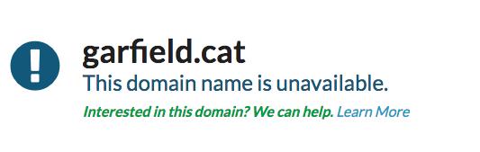 互联网人撸猫 可以先撸个.cat域名