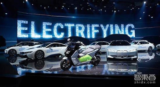 宝马在法兰克福车展的主题就是电气化