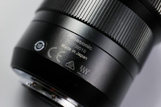 镜头为日本生产