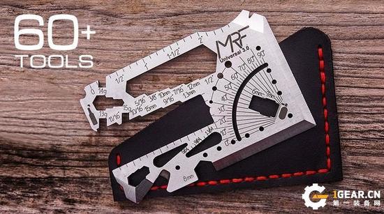 百变星君!集60多种工具于一身的多用工具卡