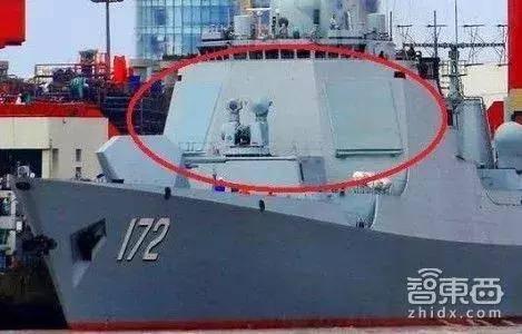 海军052D昆明舰上搭载的相控阵雷达