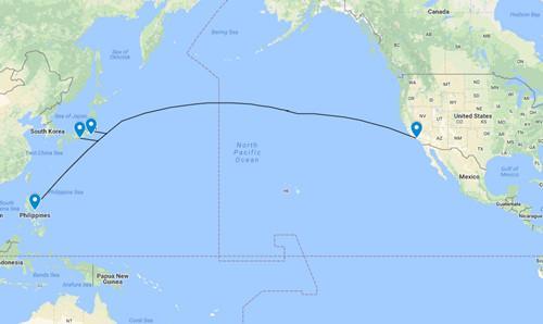 软银联手亚马逊等公司建设太平洋海底电缆