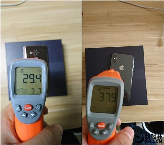 ↑↑↑左为HUAWEI Mate 10 Pro,右为iPhone X