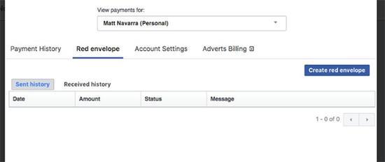 越来越像微信?Facebook或推红包功能,上限20美元