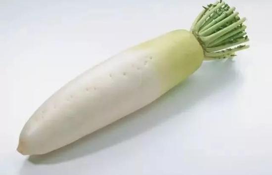 2.白萝卜